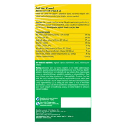 Renew Life Critical Liver Support