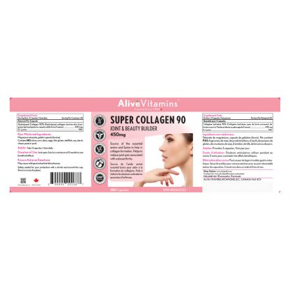Alive Super Collagen 90 450mg