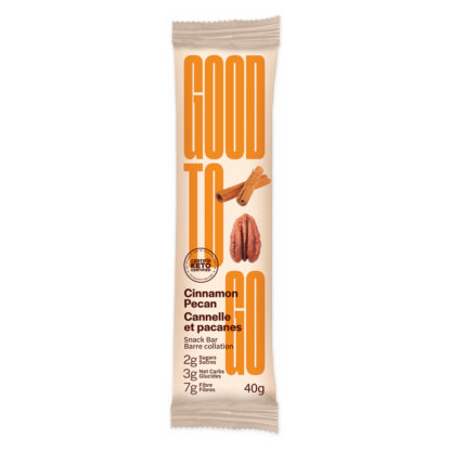 Good To Go Keto Bar Cinnamon Pecan