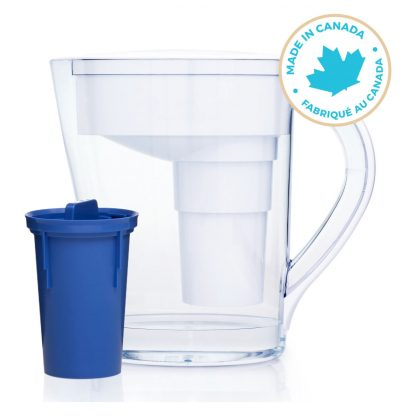 Santevia MINA Slim Series White Pitcher