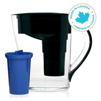 Santevia MINA Slim Series Black Pitcher