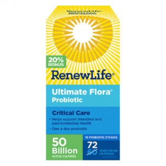 RenewLife Ultimate Flora Critical Care 72 Bonus Size