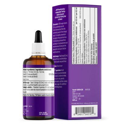 Vitamin D3 - Liquid - Back Side