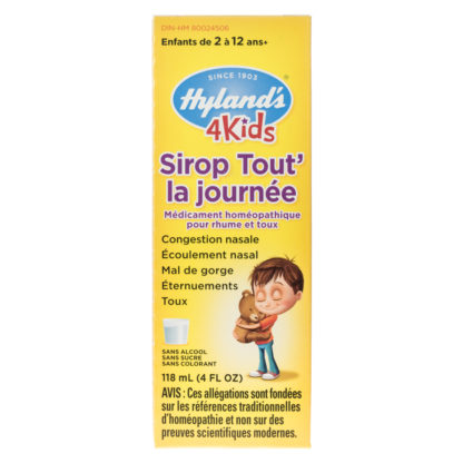 Hyland's 4 Kids All Day Syrup Relief Liquid
