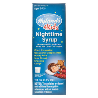 Hyland's 4 Kids Cold 'n Cough Nighttime Relief Liquid