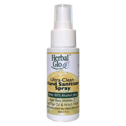 Herbal Glo Ultra Clean Hand Sanitizer Spray