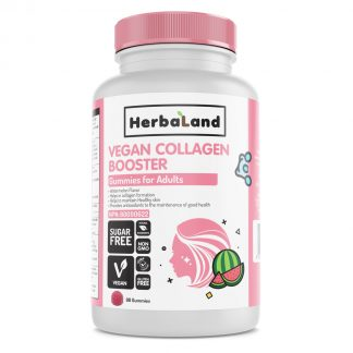 HerbaLand Vegan Collagen Booster Gummies for Adults