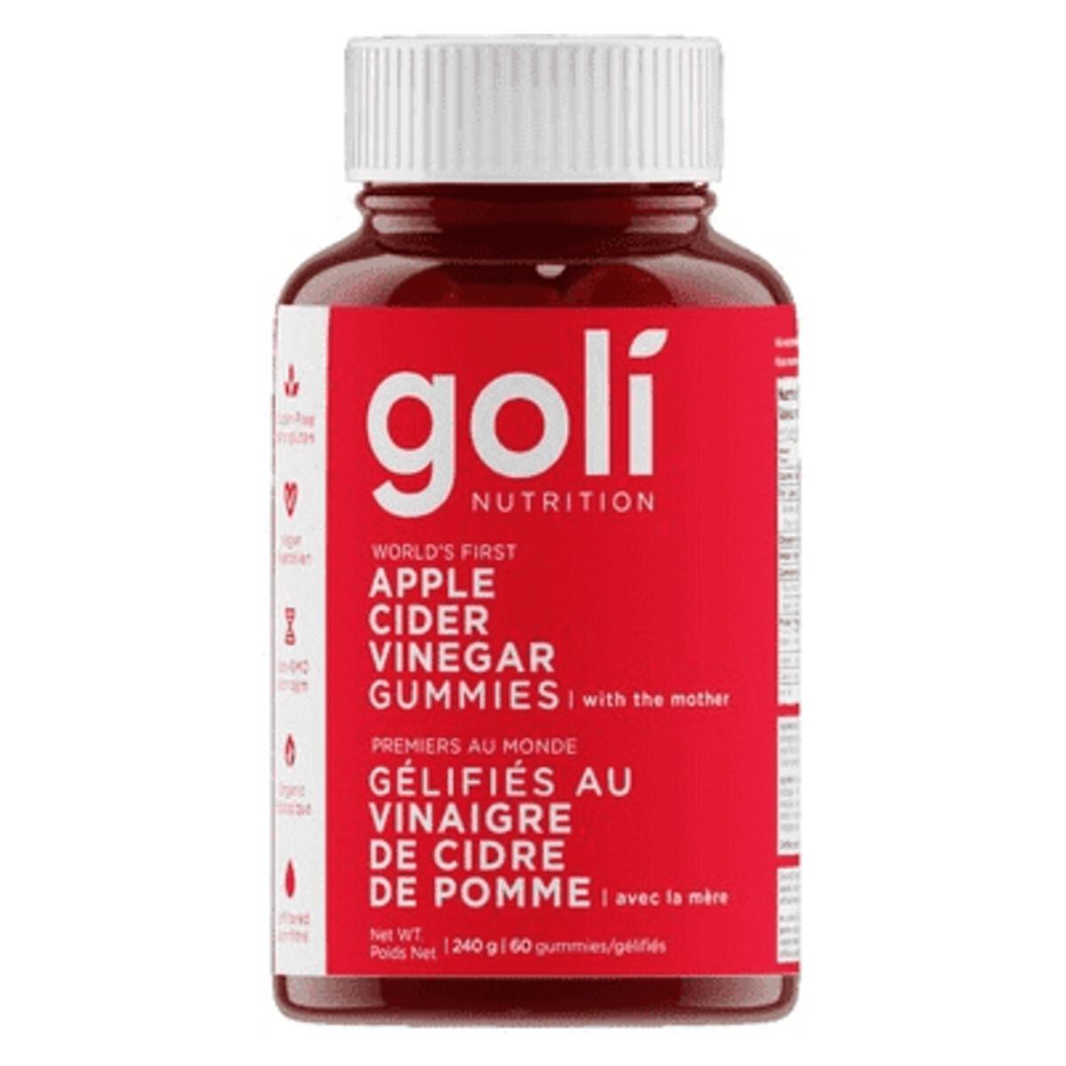 Goli Apple Cider Vinegar Gummies – ShopAlive.ca
