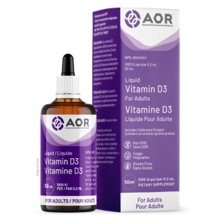 AOR Vitamin D3 - Liquid 50ml
