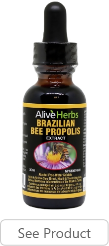 Brazilian Green Bee Propolis Tincture