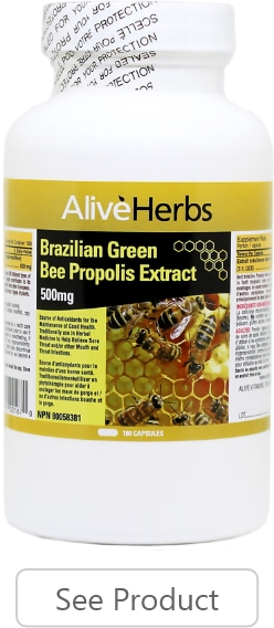 Brazilian Green Bee Propolis Capsules