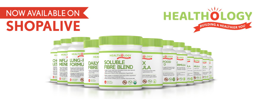 Healthology Now Available at ShopAlive.ca!