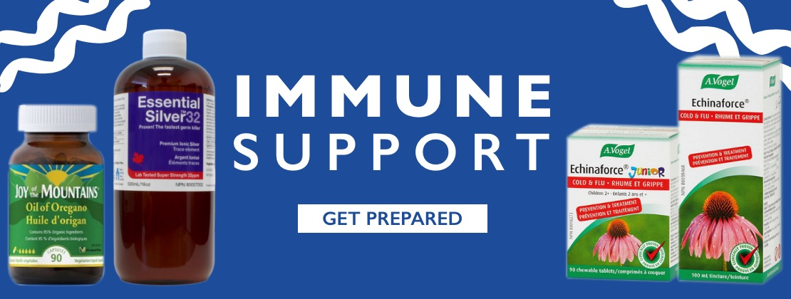 Immune Support - Get Prepared!