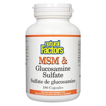 MSM & Glucosamine Sulfate