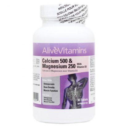 Calcium 500 mg & Magnesium 250 mg