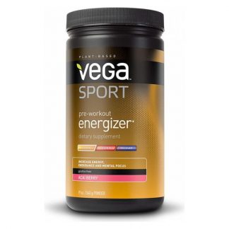 Vega Sport Pre-Workout Energizer Tub - Acai Berry