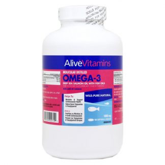 Omega-3 Deep Sea Salmon Oil