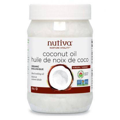 Nutiva Organic Coconut Oil 444ml