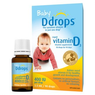 Baby Ddrops 400IU 90 drops