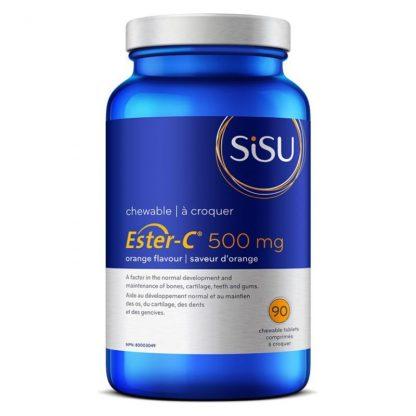 Ester-C® - 500 mg Chewable - Orange