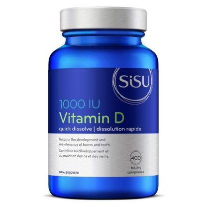 Vitamin D3 - 1000 IU - Unflavoured