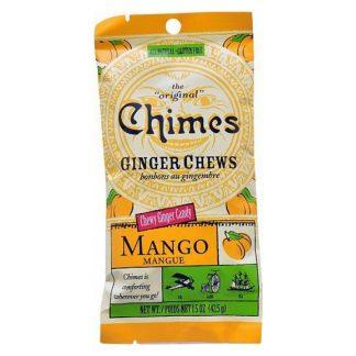 Ginger Chews Mango Bag