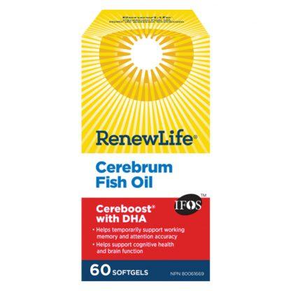 Renew Life Cerebrum Fish Oil