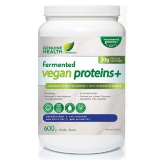 Fermented Vegan Proteins  Unsweetened & Unflavoured