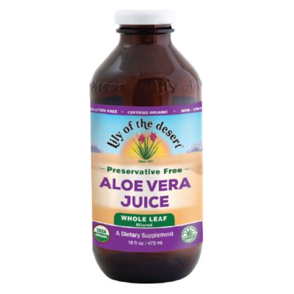 Organic Whole Leaf Aloe Vera Juice Concentrate